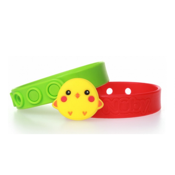 Nuby All Natural Mosquito Repellent Bracelet 2Pcs – Chicken