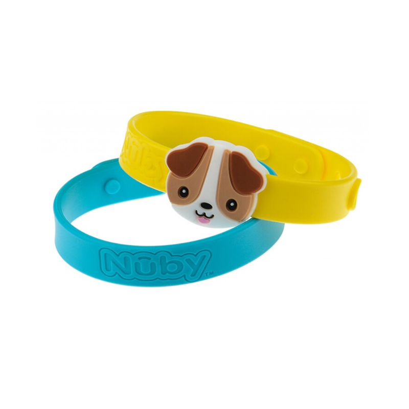 Nuby All Natural Mosquito Repellent Bracelet 2Pcs – Dog