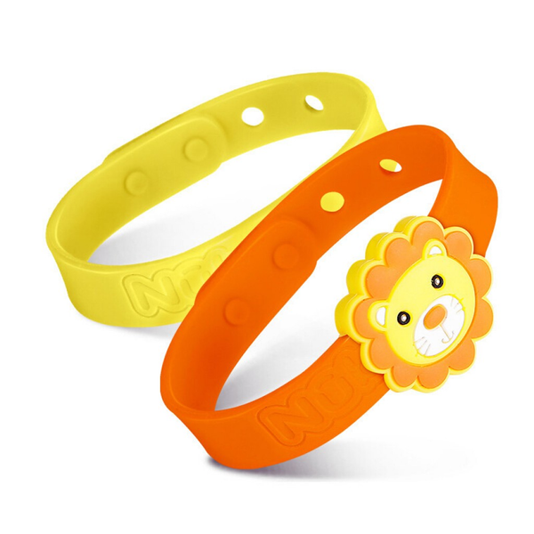 Nuby All Natural Mosquito Repellent Bracelet 2Pcs – Lion
