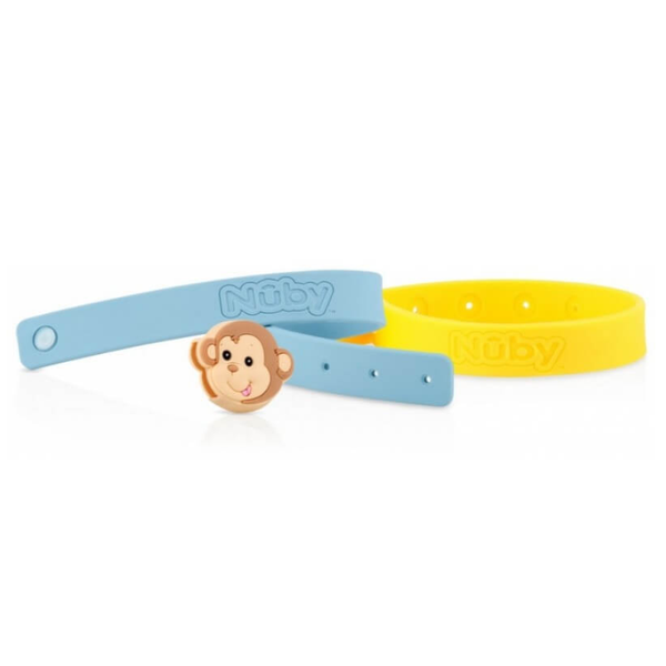 Nuby All Natural Mosquito Repellent Bracelet 2Pcs – Monkey