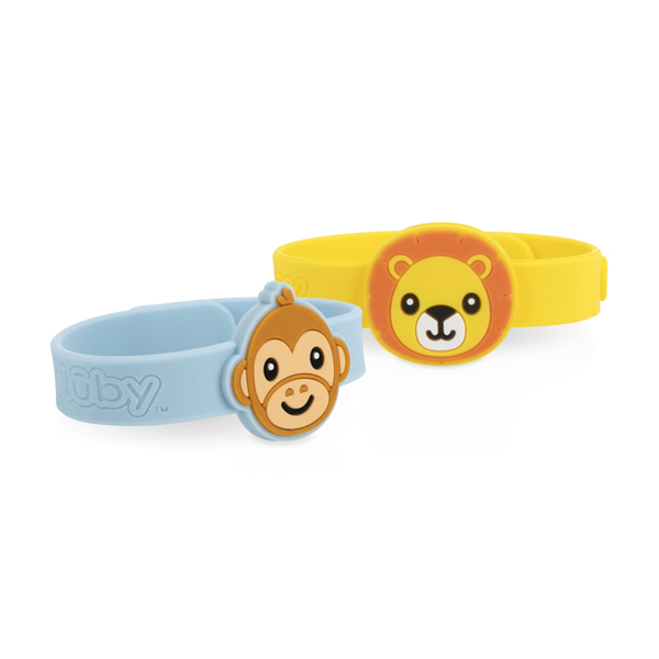 Nuby Mosquito Repellent Bracelets – Lion & Monkey