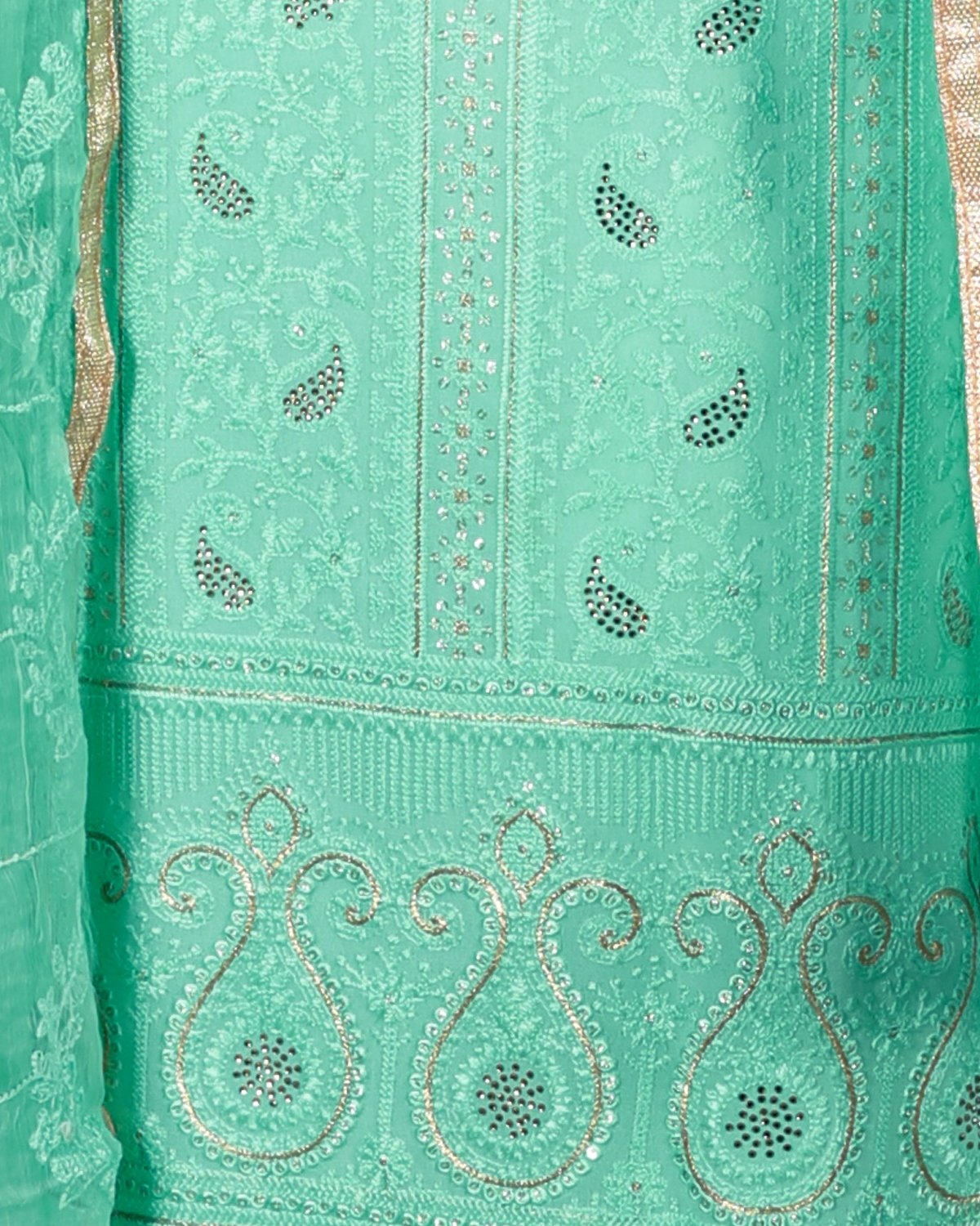 georget chikan embroided suit