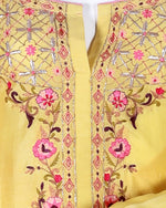 Load image into Gallery viewer, cotton silk/mudal embroided suit with gotta work