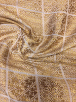 Load image into Gallery viewer, PURE SILK BANARSI JACQUARD DOLA ALLOVER