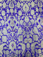 Load image into Gallery viewer, PURE SILK BANARSI JACQUARD PASLEY DESIGN