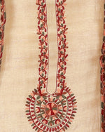 Load image into Gallery viewer, kashmiri embroided pure bamberg tussar suit