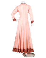 Load image into Gallery viewer, anarkali with kashmiri embroidery on neck and dupatta