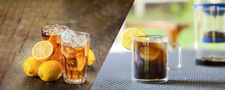 THE DIFFERENCE BETWEEN ICED TEA & COLD BREW TEA
