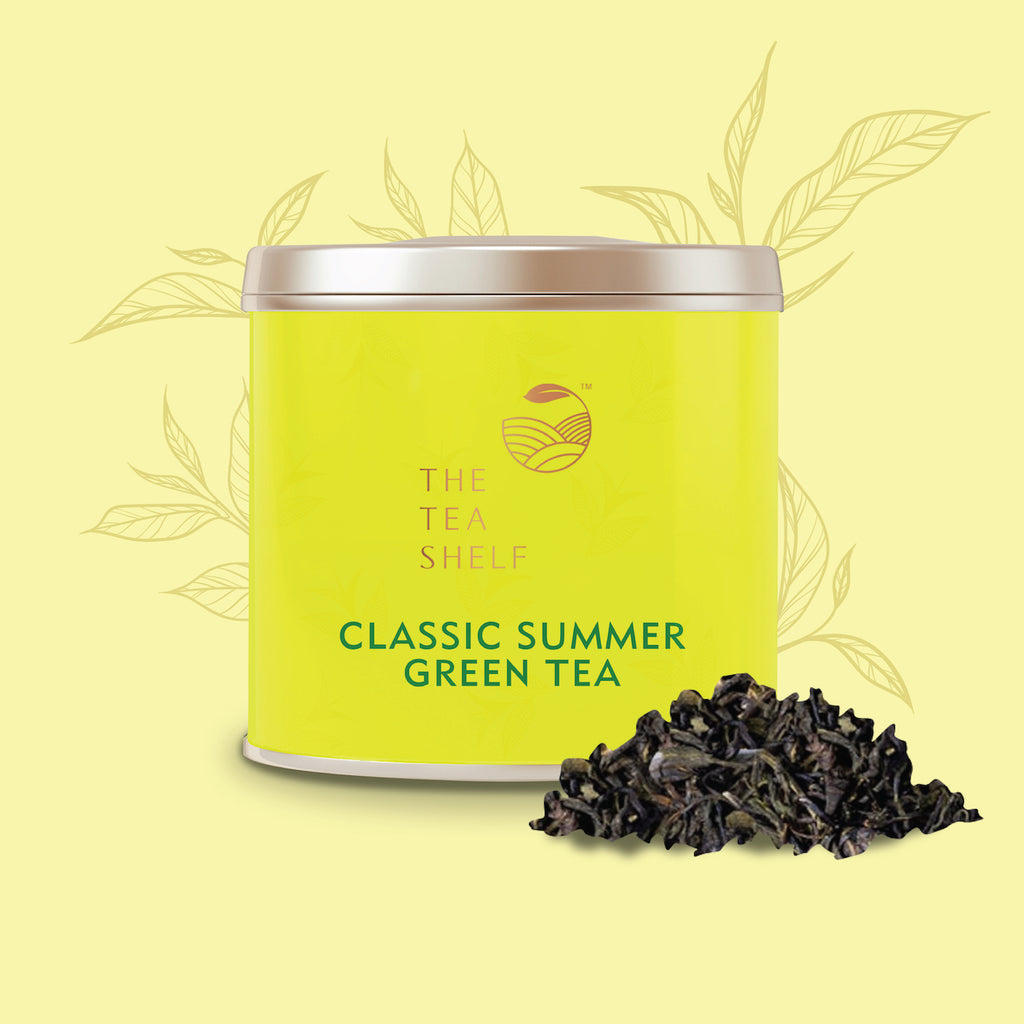 Assam Classic Summer Green Tea - The Tea Shelf