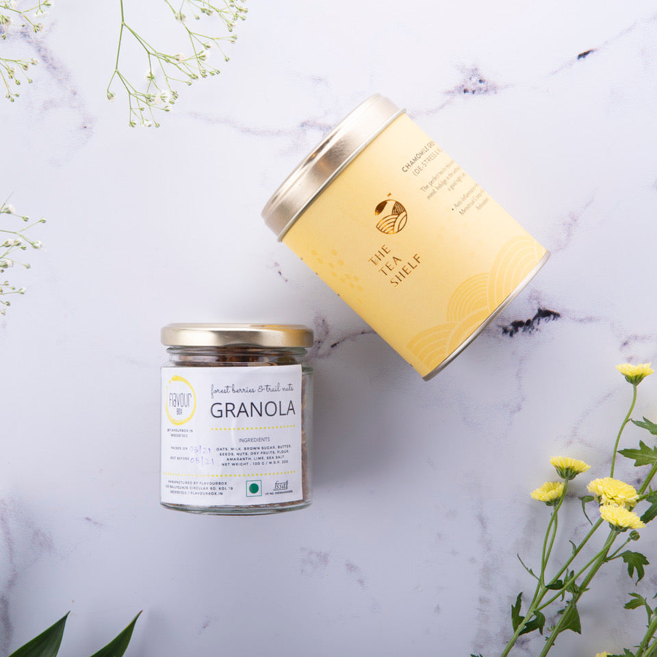 TTS x Flavourbox Granola - The Tea Shelf