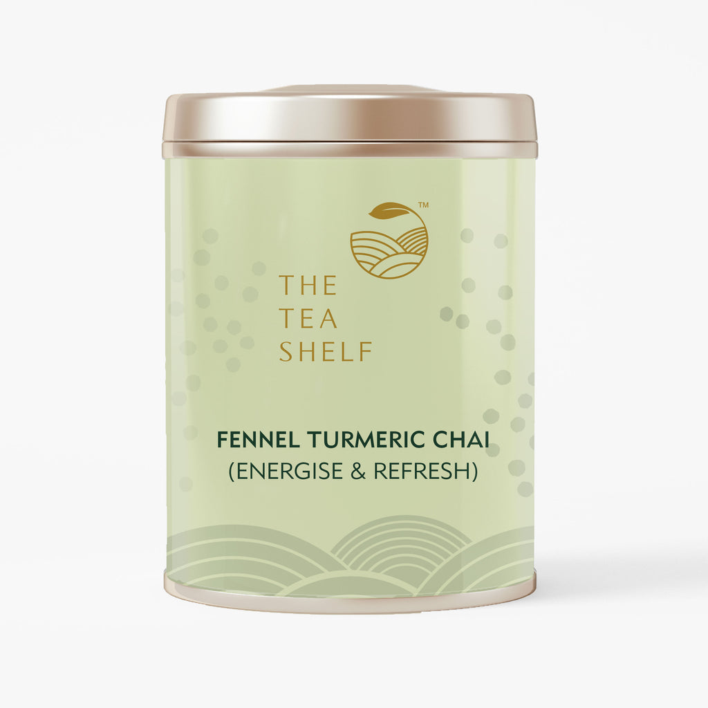 Fennel Turmeric Chai Tea - The Tea Shelf