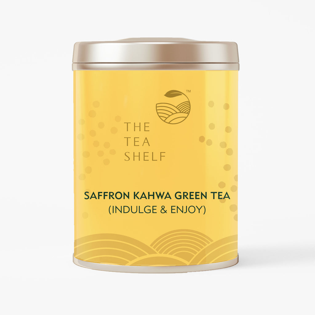 Kashmiri Saffron Kahwa Green Tea - The Tea Shelf