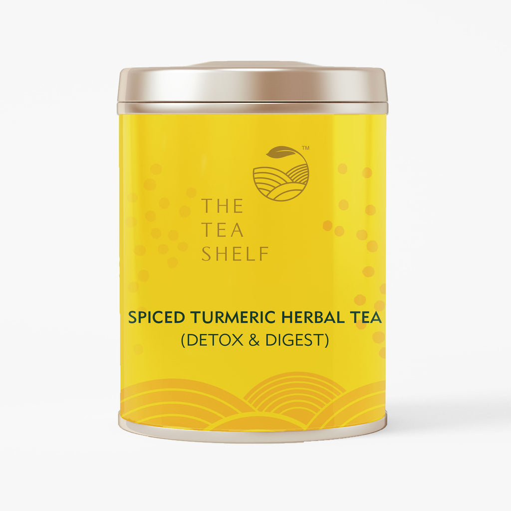 Spiced Turmeric Herbal Tea - The Tea Shelf