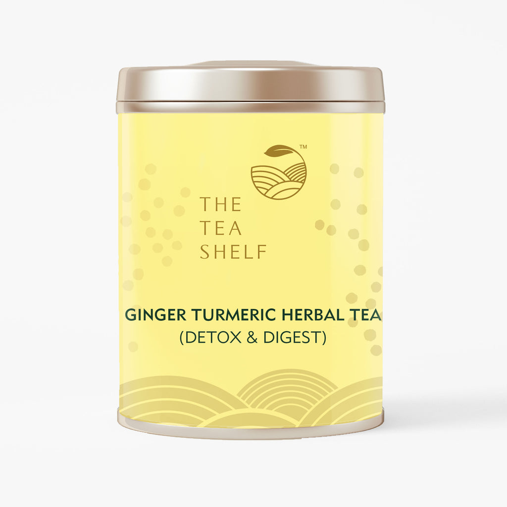 Turmeric Ginger Herbal Tea - The Tea Shelf