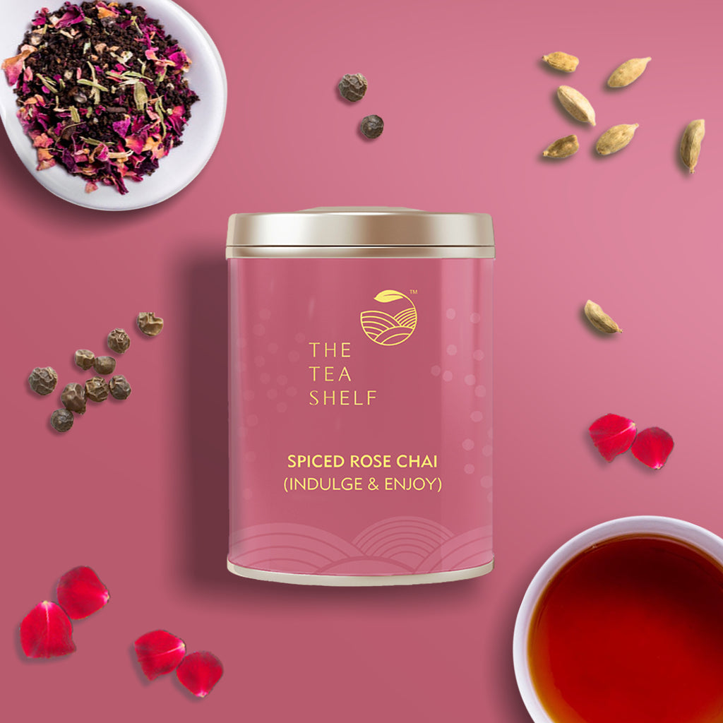 Spiced Rose Chai - The Tea Shelf