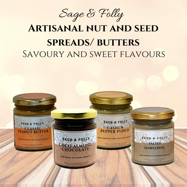 TTS x Sage & Folly Nut Butters - The Tea Shelf