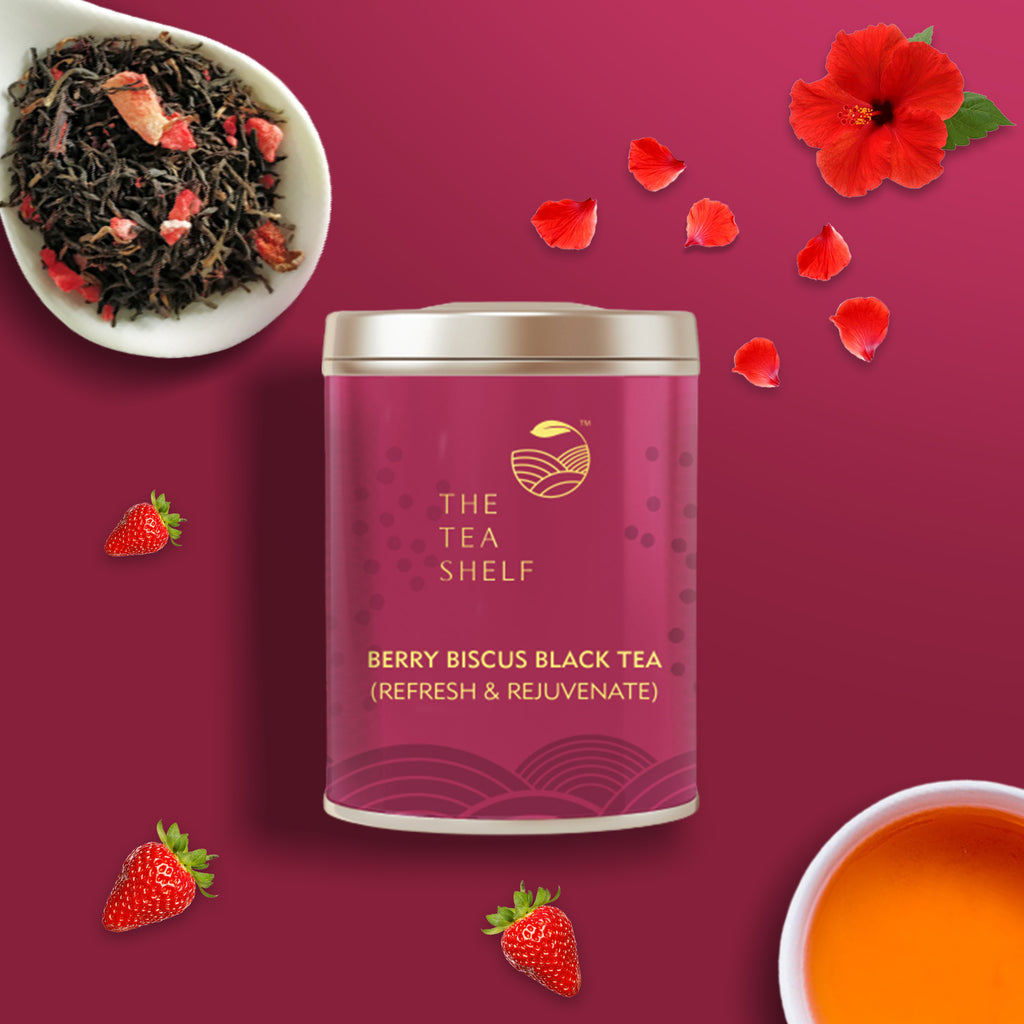 Berry Hibiscus Black Tea - The Tea Shelf