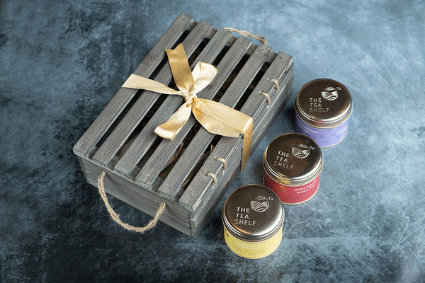 Chestnut Tea Gift Box - Pack of 6 - The Tea Shelf