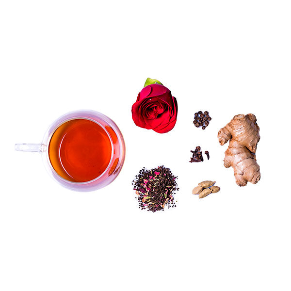 Spiced Rose Tea - The Tea Shelf