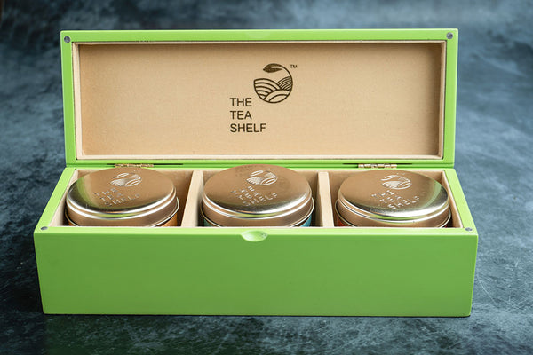 Fern Tea Gift Box - Pack of 3 - The Tea Shelf