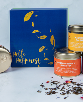 Hello Happiness - Tea Gift Box ( Pack of 4)