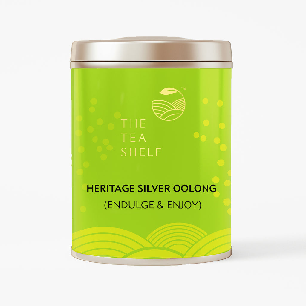 Heritage Silver Oolong Tea - The Tea Shelf