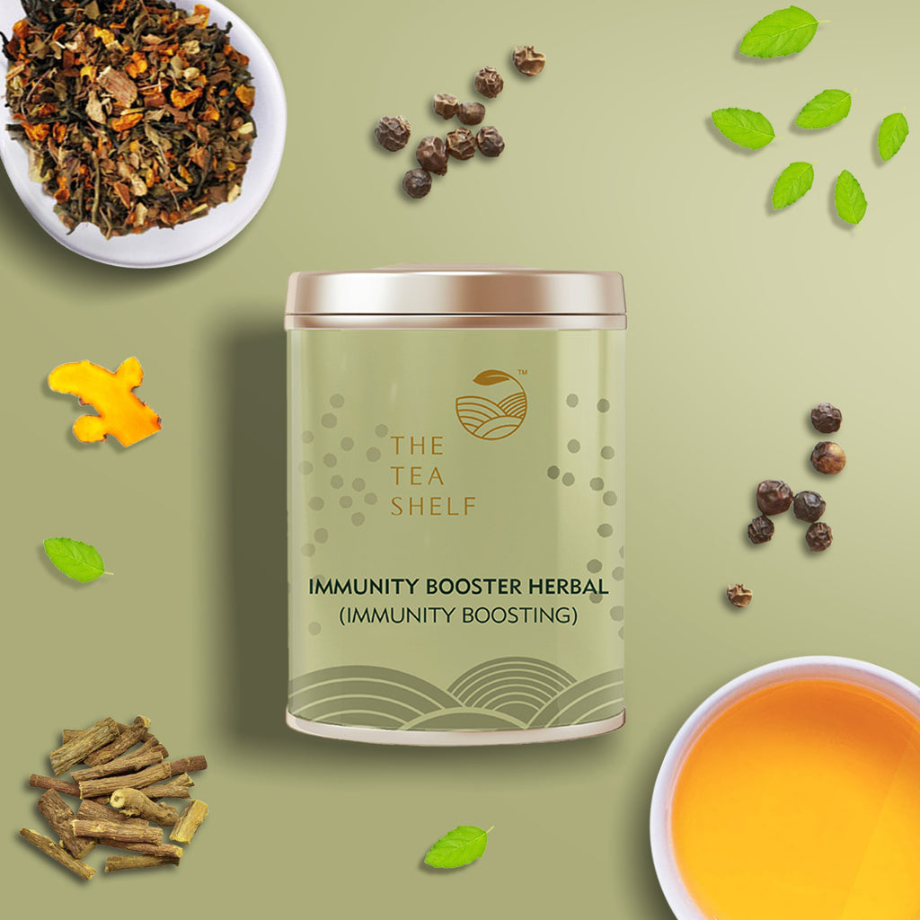 Immunity Booster Herbal Tea - The Tea Shelf