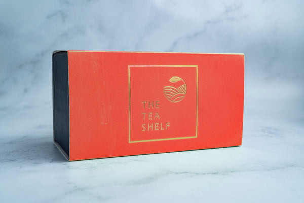 Ivy Tea Gift Box - Red - The Tea Shelf