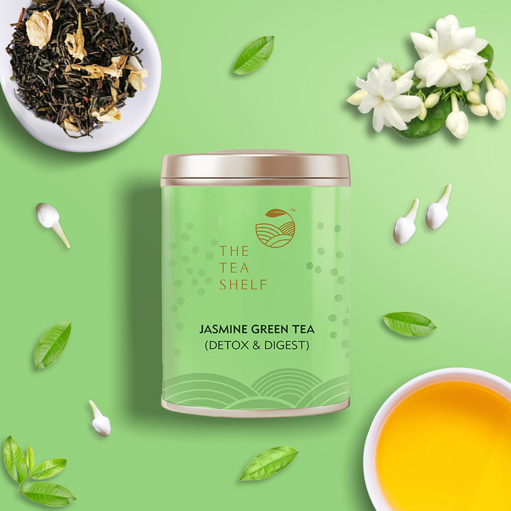 Jasmine Green Tea - The Tea Shelf
