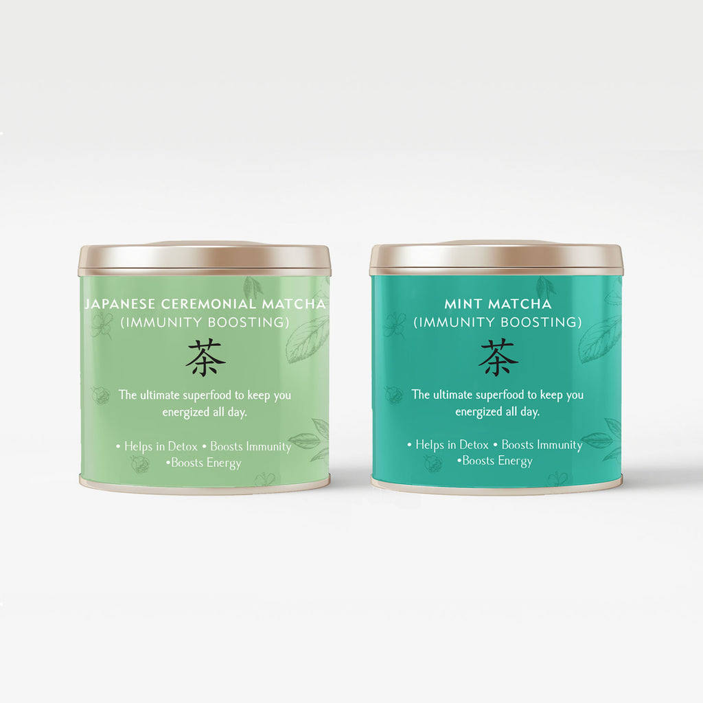 Minty Matcha Bundle - The Tea Shelf