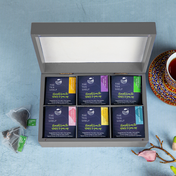 Tea Chest - Tea Gift Box (Pack of 60) - The Tea Shelf