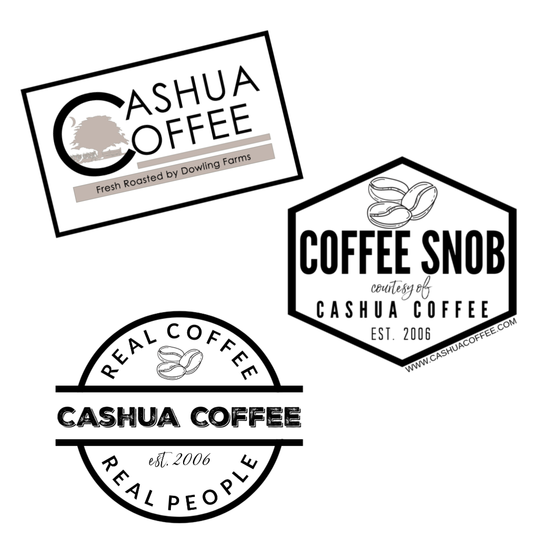 Cashua Coffee Sticker 3-Pack