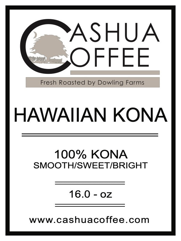 Hawaiian 100% KONA Coffee