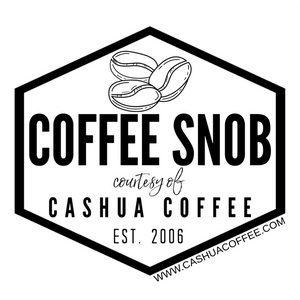 Coffee Snob Vinyl Sticker