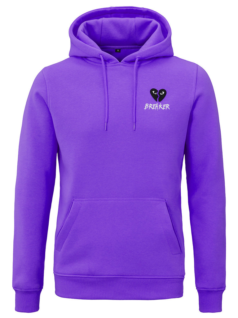 HEARTBREAKER HOODIE PURPLE ESSENTIAL