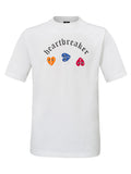 HEARTBREAKER T-SHIRT WHITE COLORS