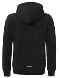 PEACE RECEIPT OVERSIZED HOODIE BLACK