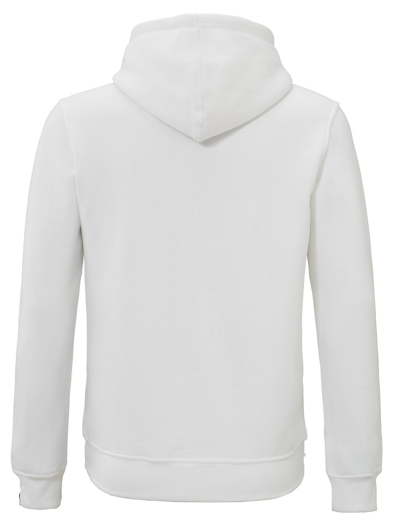 HEARTBREAKER HOODIE WHITE TERRY EMBROIDERY