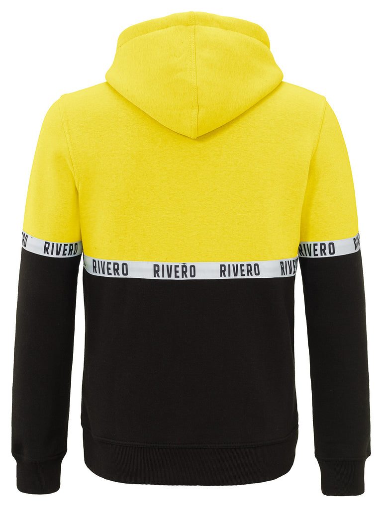 RIVERO TAPED HOODIE YELLOW/BLACK