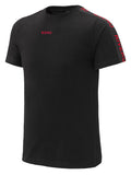 RIVERO TRACK T-SHIRT BLACK/RED