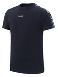RIVERO TRACK T-SHIRT NAVY/WHITE