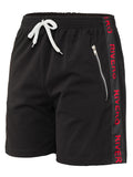 RIVERO TRACKSHORT BLACK/RED