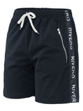 RIVERO TRACKSHORT NAVY/WHITE