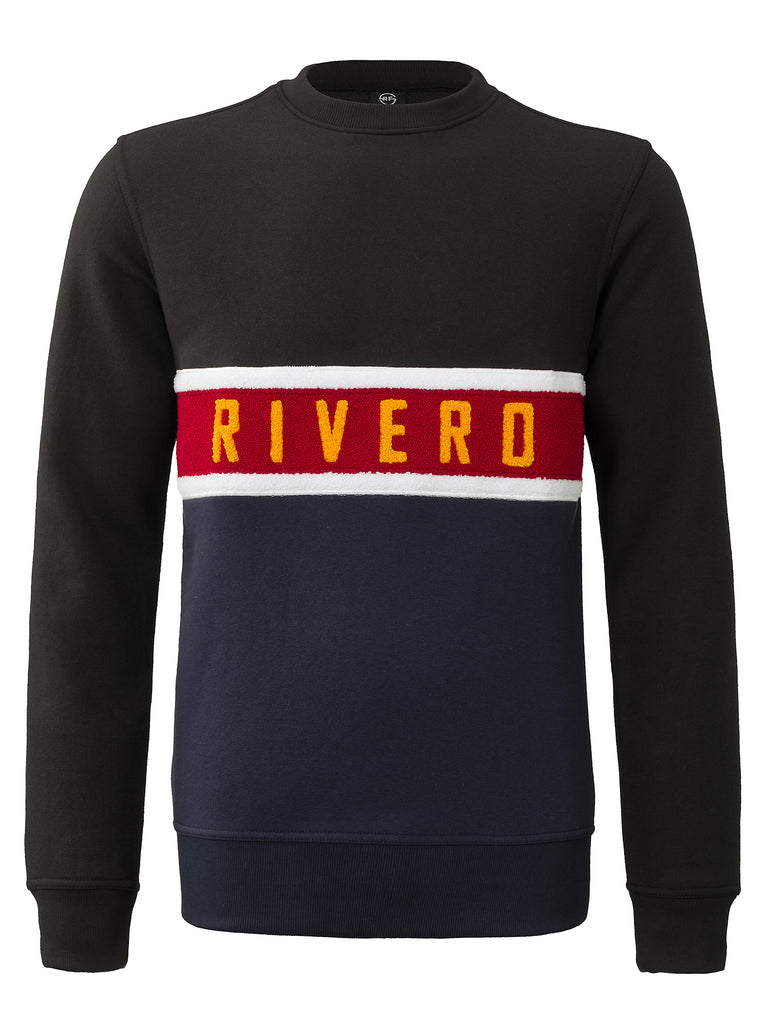 RIVERO SWEATER NAVY/BLACK