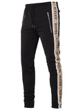 RIVERO TRACKPANTS BLACK/NUDE