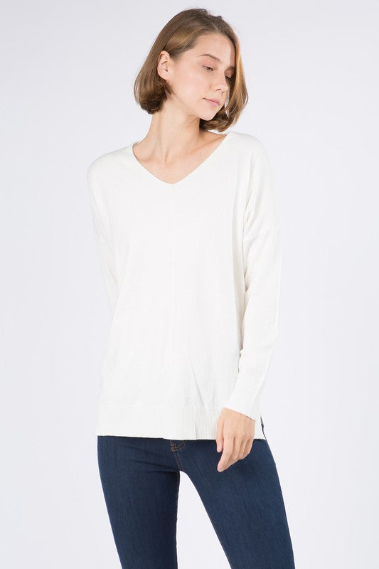 DREAMERS DOLMAN SWEATER- IVORY