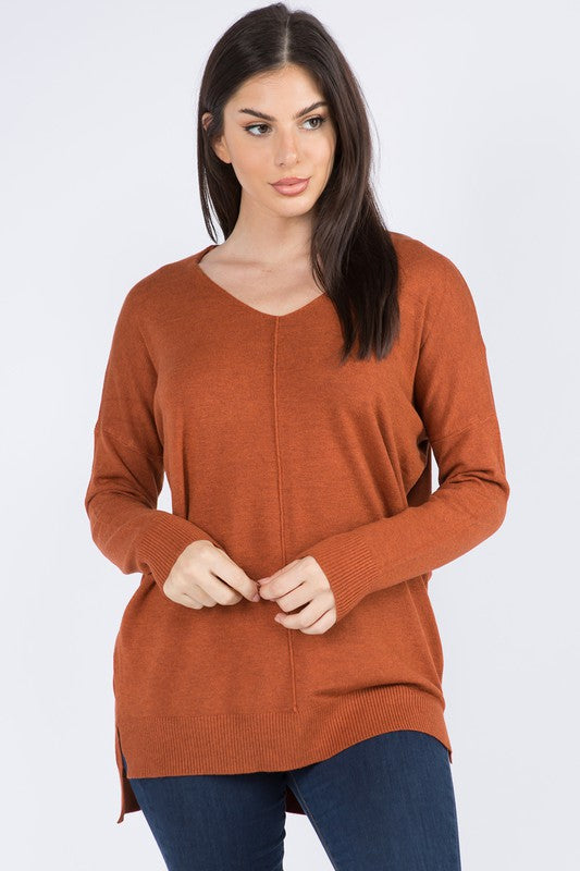 DREAMERS DOLMAN SWEATER- BRONZE