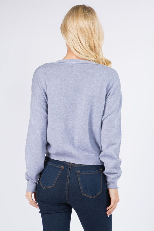 BRIE CROPPED CARDIGAN