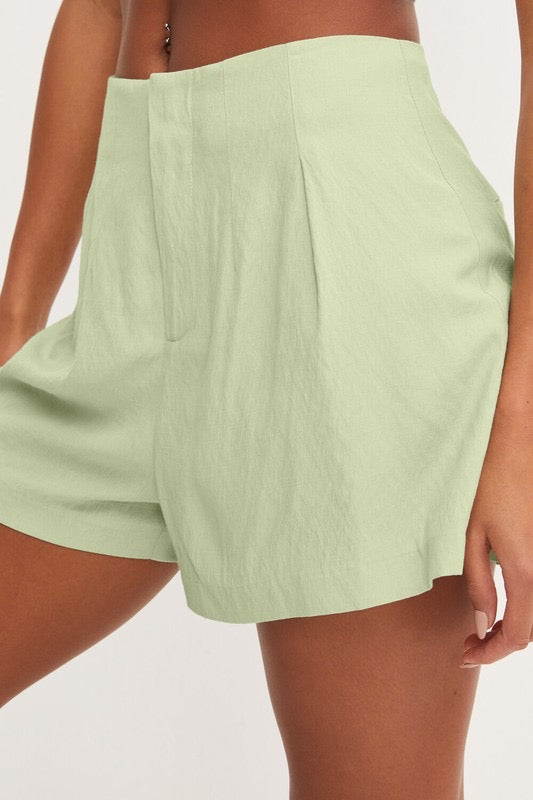 FRESH MINT SHORTS- MINT