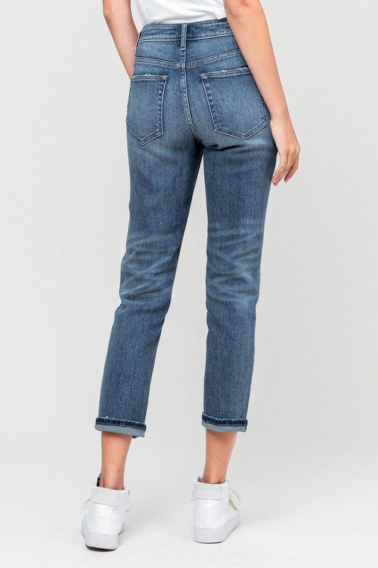 SOL CUFFED BOYFRIEND DENIM